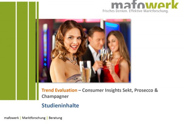 Consumer Insights sparkling wine, Prosecco and Champagne 2017