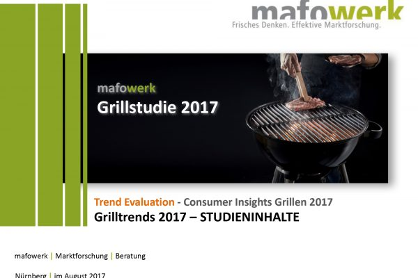 Consumer Insights barbecueing 2017