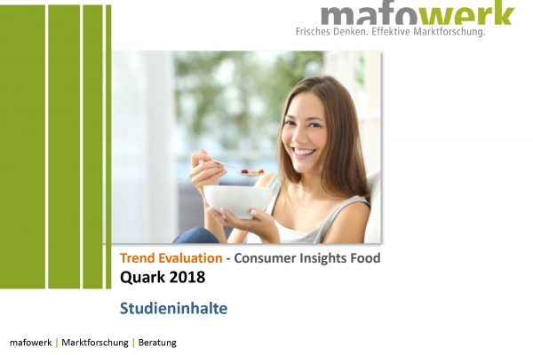 Consumer Insights Quark 2018