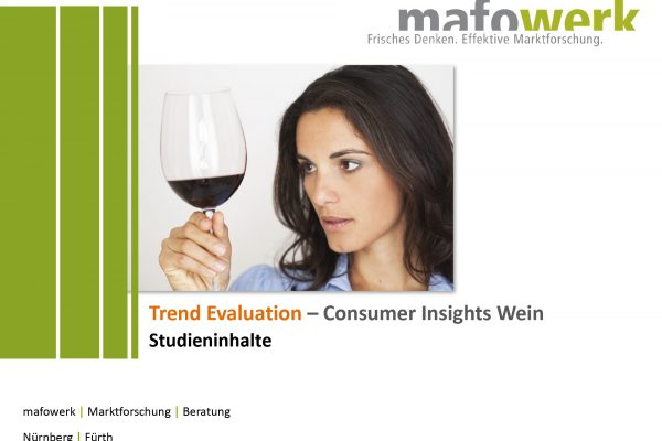 Consumer Insights Wein 2017