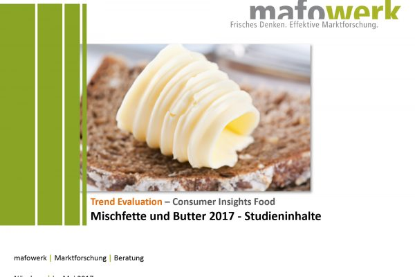Consumer Insights: new butter trends 2017