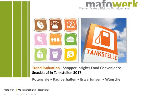 Shopper Insights Snackkauf in Tankstellen 2017