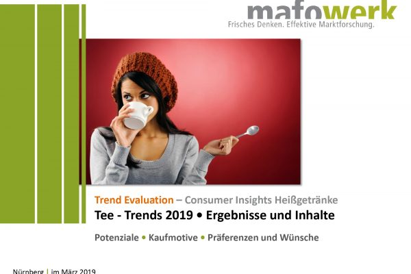 Consumer Insights tea trends 2019