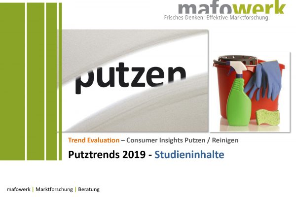 Consumer Insights Putztrends 2019