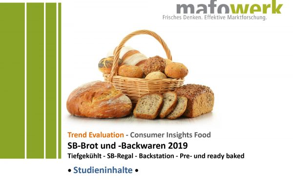 Consumer Insights Bread and Bakery products 2019