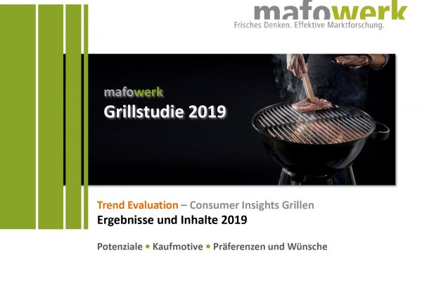 Consumer Insights Grilltrends 2019