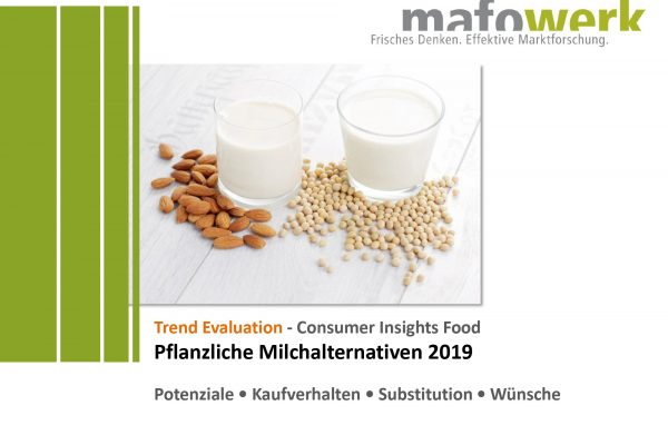 Consumer Insights plant-based milk alternatives 2019