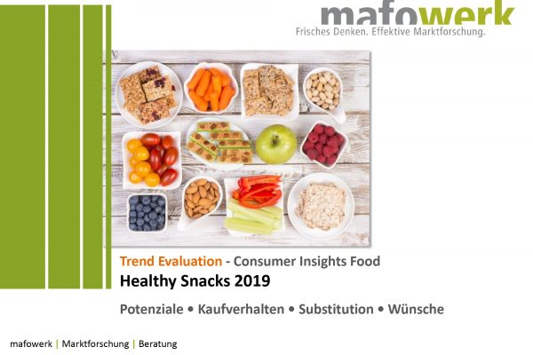 Consumer Insights Healthy Snacks 2019