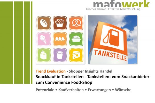 Shopper Insights Tankstellen-Snacks 2019