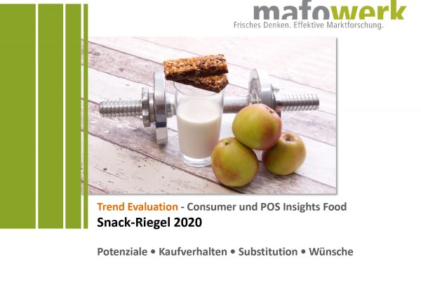 Consumer Insights Snack-Riegel 2020