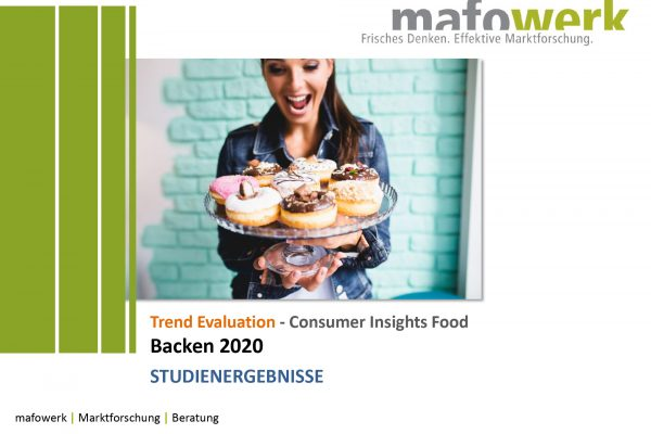 Consumer Insights Baking Study 2020