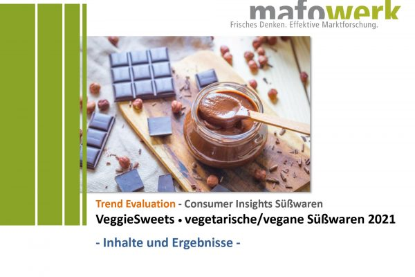 Consumer Insights Veggie Sweets 2021