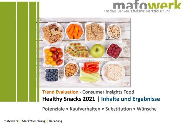 Consumer Insights Healthy Snacks 2021