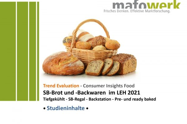Consumer Insights bread & bakery products 2021
