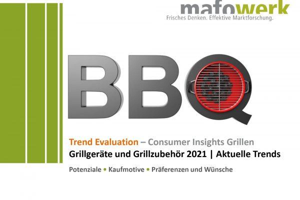 Vorankündigung aktuelle Grillstudien 2021 – Consumer Insights Grillgeräte und Grillzubehör 2021