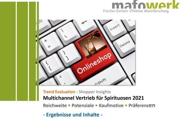 Shopper Insights multichannel sales spirits online/offline 2021