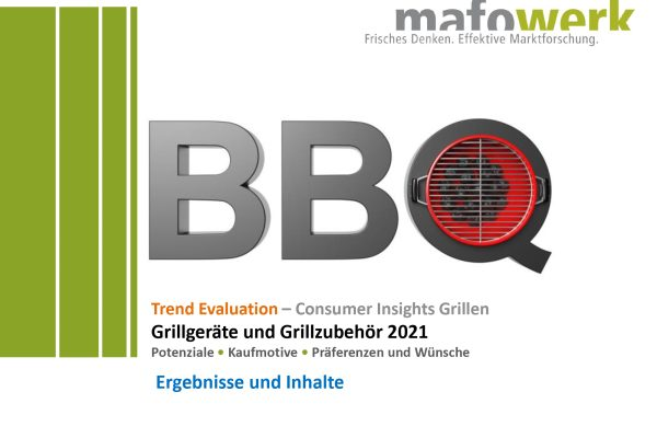 Consumer Insights barbecue grills and barbecue equipment 2021